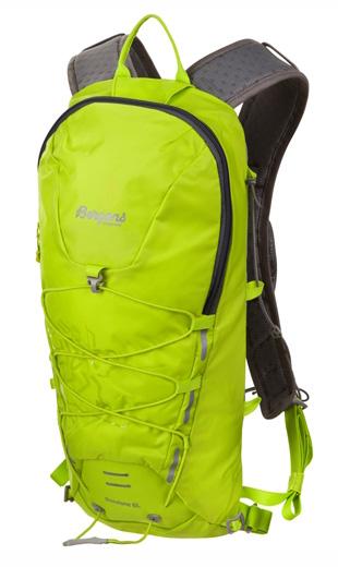 Рюкзак Bergans Rondane 6L Neon Green/SolidDkGrey Рюкзаки туристические 1144852  - купить со скидкой