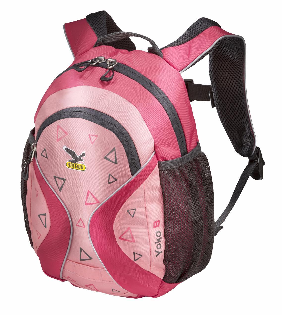 Купить Рюкзак Salewa Kids Yoko 8 Paradise Pink/strawberry Pink, унисекс, Рюкзаки детские