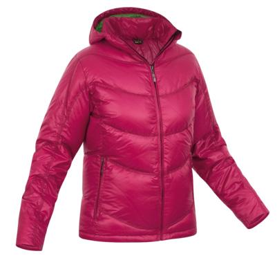 Купить Куртка для активного отдыха Salewa 5 Continents COLD FIGHTER DWN W JKT raspberry5490 (бордовый) Одежда туристическая 680528