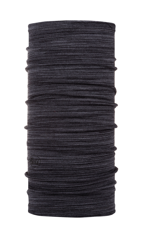 Бандана Buff Midweight Merino Wool Castlerock Grey Multi Stripes