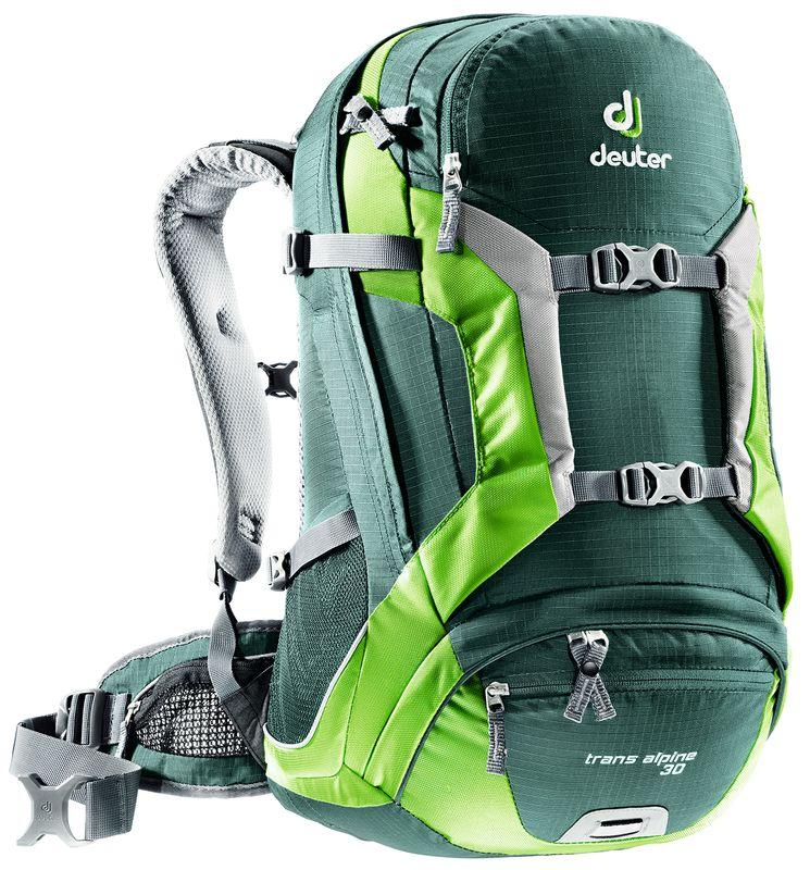 Рюкзак Deuter 2016-17 Trans Alpine 30 forest-kiwi Рюкзаки универсальные 1187016  - купить со скидкой