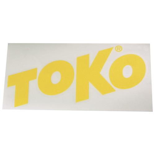 Наклейка Toko Toko Letter Sticker Yellow от КАНТ