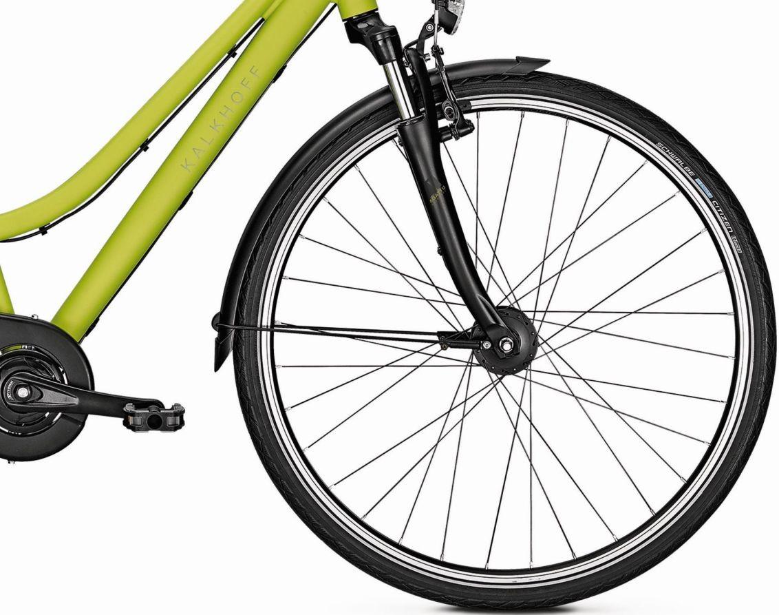 Велосипед Kalkhoff Agattu 8R 2018 Wasabigreenmatt