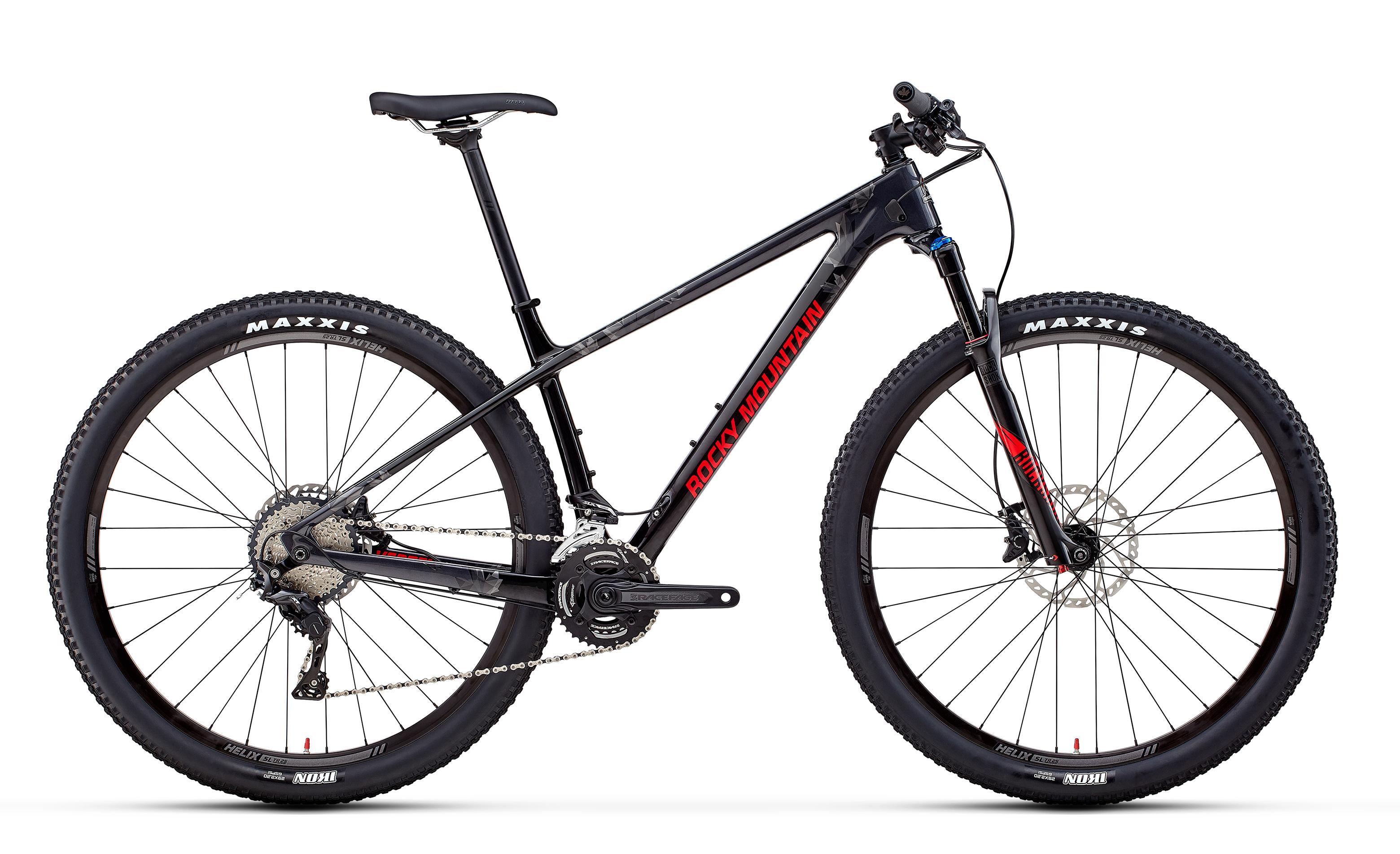 Велосипед Rocky Mountain Vertex Carbon 50 2018 Black/red