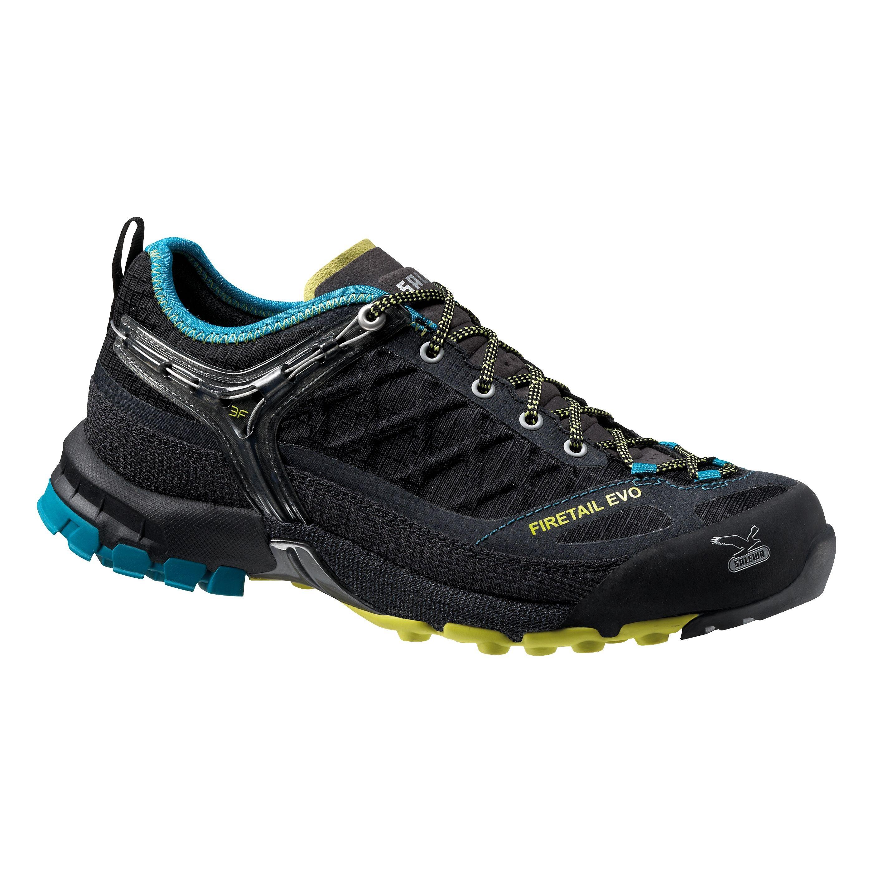 Купить Треккинговые кроссовки Salewa Tech Approach WS FIRETAIL EVO Black/Venom Треккинговая обувь 1090186