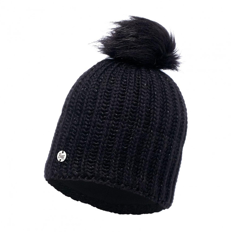 Шапка Buff Knitted & Polar Hat Glen Black Chic