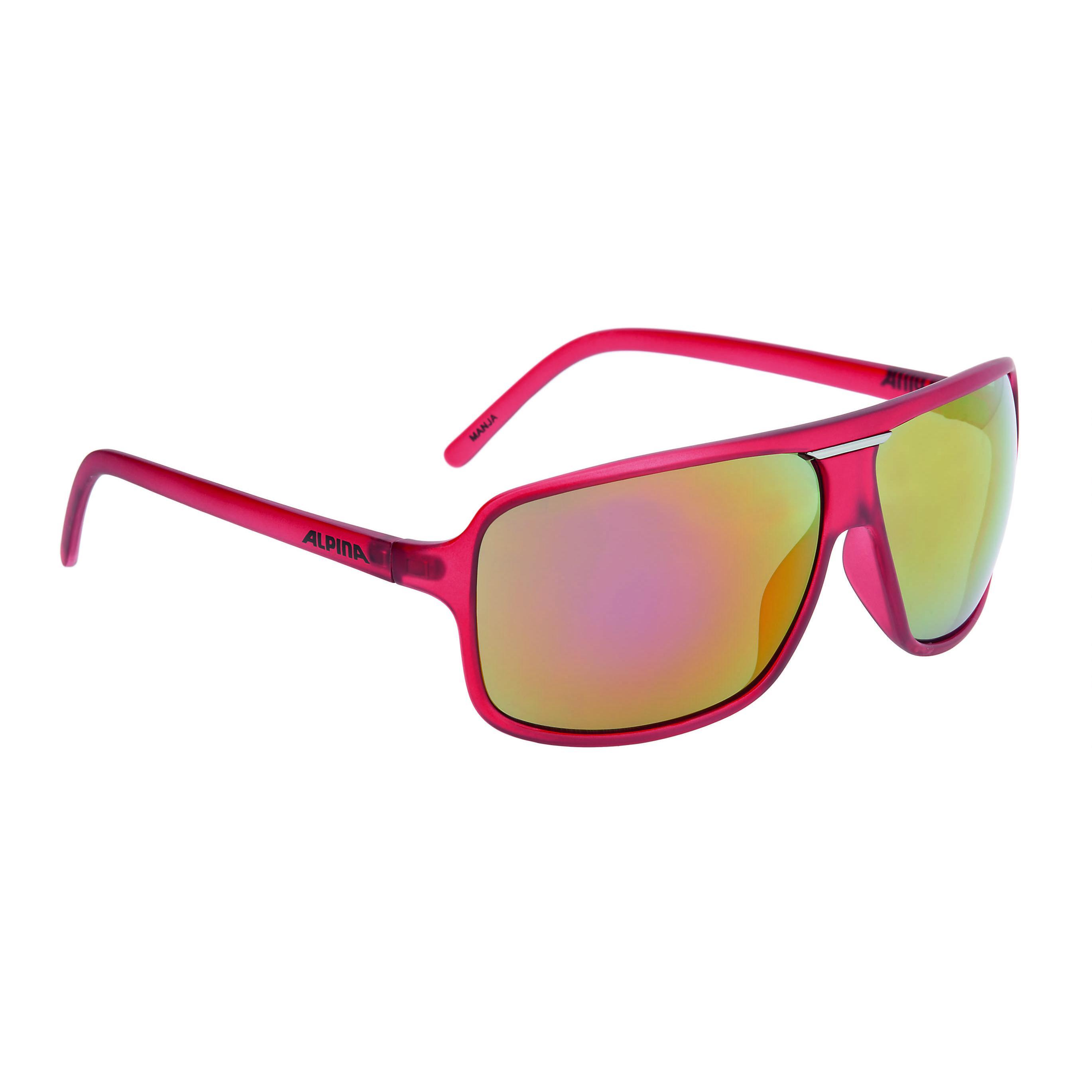 Купить Очки солнцезащитные Alpina SPORT STYLE MANJA red matt, солнцезащитные, 1180619