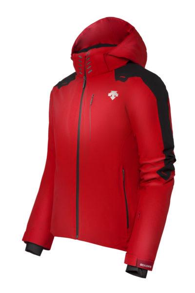 Купить Куртка горнолыжная DESCENTE 2017-18 Cresta Electric Red, Одежда горнолыжная, 1383723