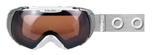 Купить Очки горнолыжные Casco FX-50S POLARIZED RINGE WHITE 773492