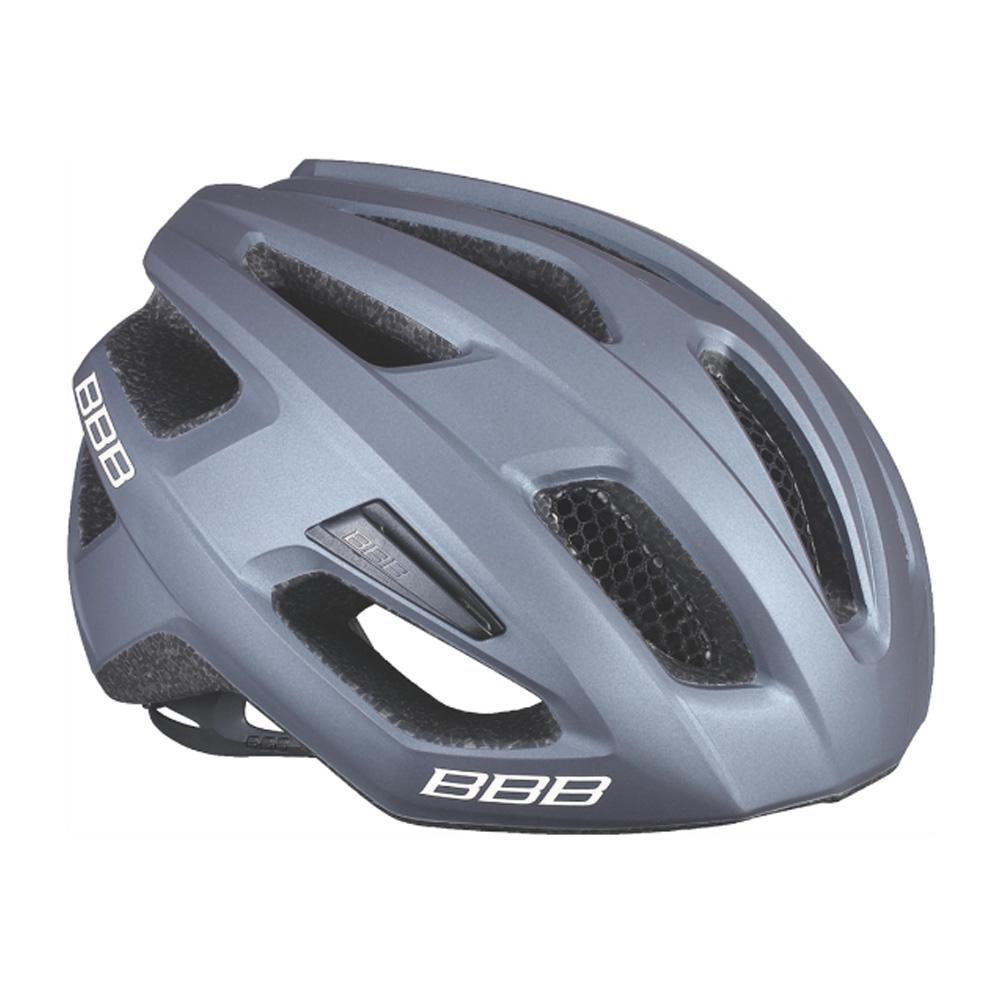 Купить Велошлем BBB 2018 Kite серый матовый, Шлемы велосипедные, 1298122