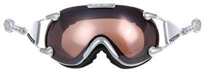 Купить Очки горнолыжные Casco FX-70L, Vautron (Magnet Link) chrome, горнолыжные, 844743
