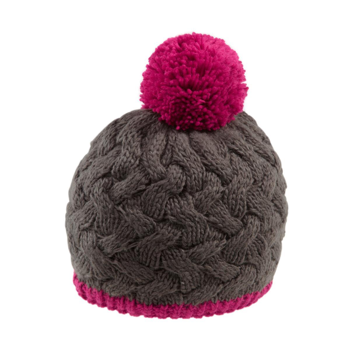 женская шапка maier, малиновая