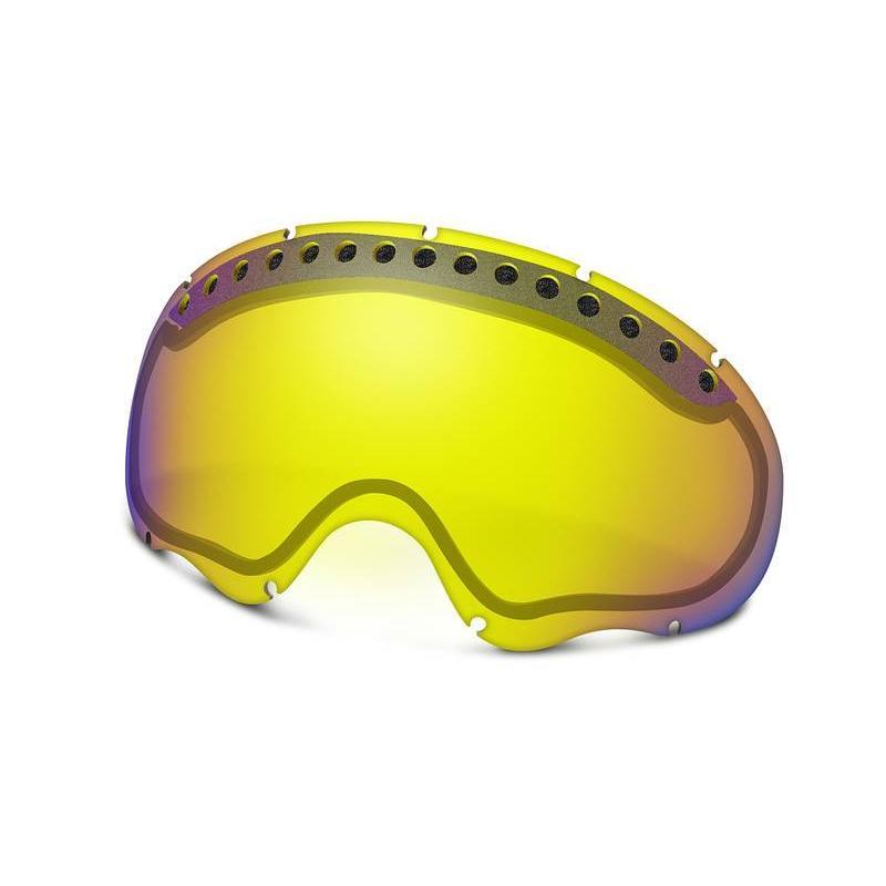 Купить Запасные линзы Oakley A FRAME H.I. YELLOW, Очки горнолыжные, 714990