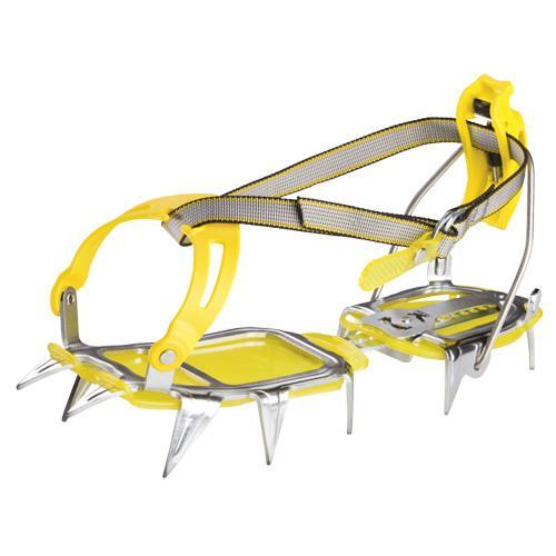 Купить Кошки Salewa Crampons DRU 2.0 COMBI ANTIBOOT CRAMPON STEEL/YELLOW альпинистские 596879