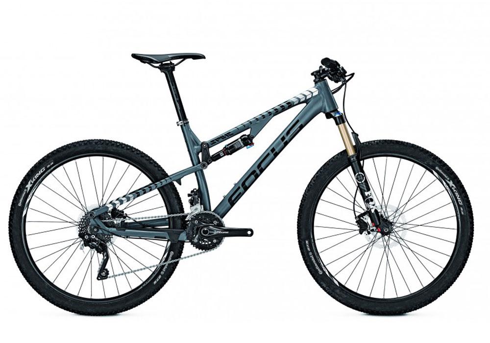Велосипед Focus Spine Ltd 2016 Slategreymatt