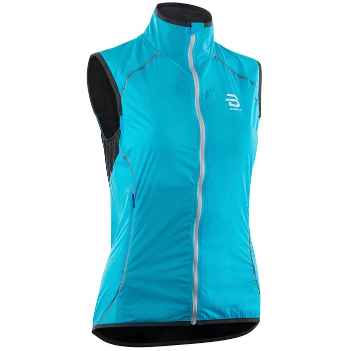 Купить Жилет Беговой Bjorn Daehlie 2018 Vest Spring Wmn Blue, женский, Одежда для бега и фитнеса