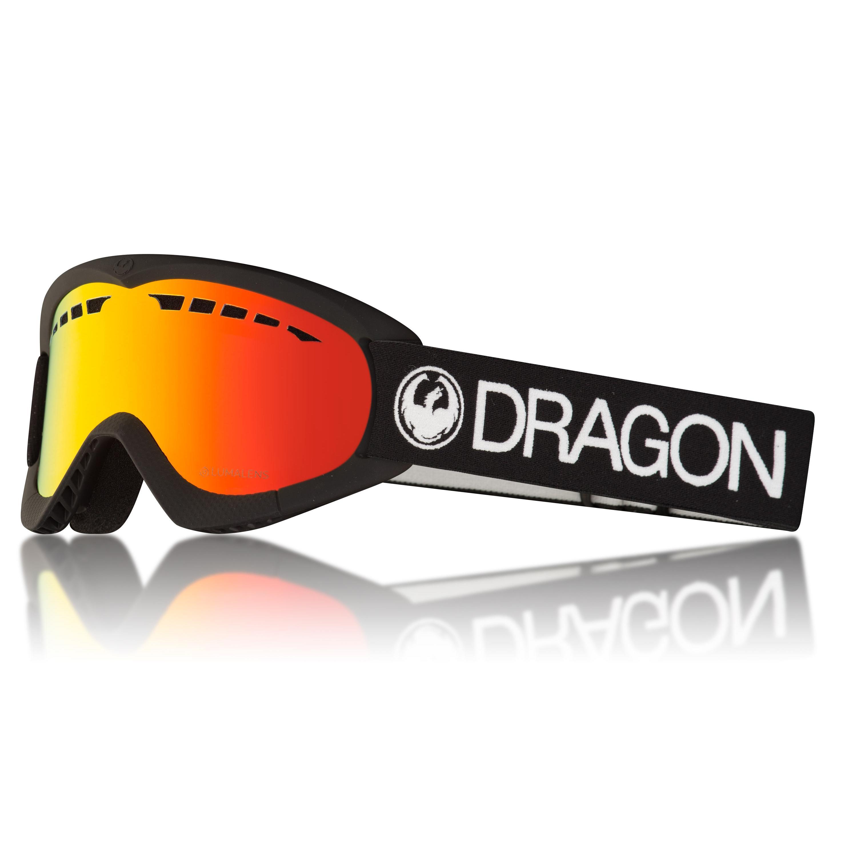 Купить Очки горнолыжные DRAGON 2017-18 DXS Red, Оптика, защита, 1371724