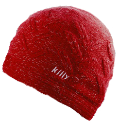 Шапка Killy 2008-09 CORINTHE W BEANIE (KILLY RED) красный