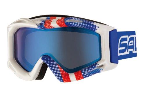 Купить Очки горнолыжные Salice 600DARWS Graffiti Blue/RW Blue 845818