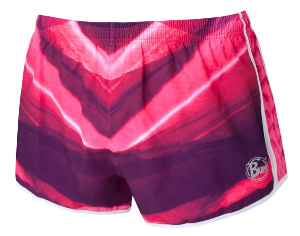 Купить Шорты беговые BUFF RUNNING SHORTS GRADIENT (DEEPPINK) розовый/фиолетовый Одежда для бега и фитнеса 759124