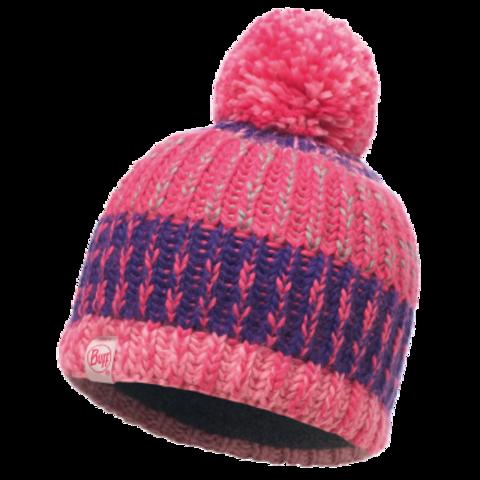 Шапка Buff Knitted & Polar Hat Child Twist Blossom Red