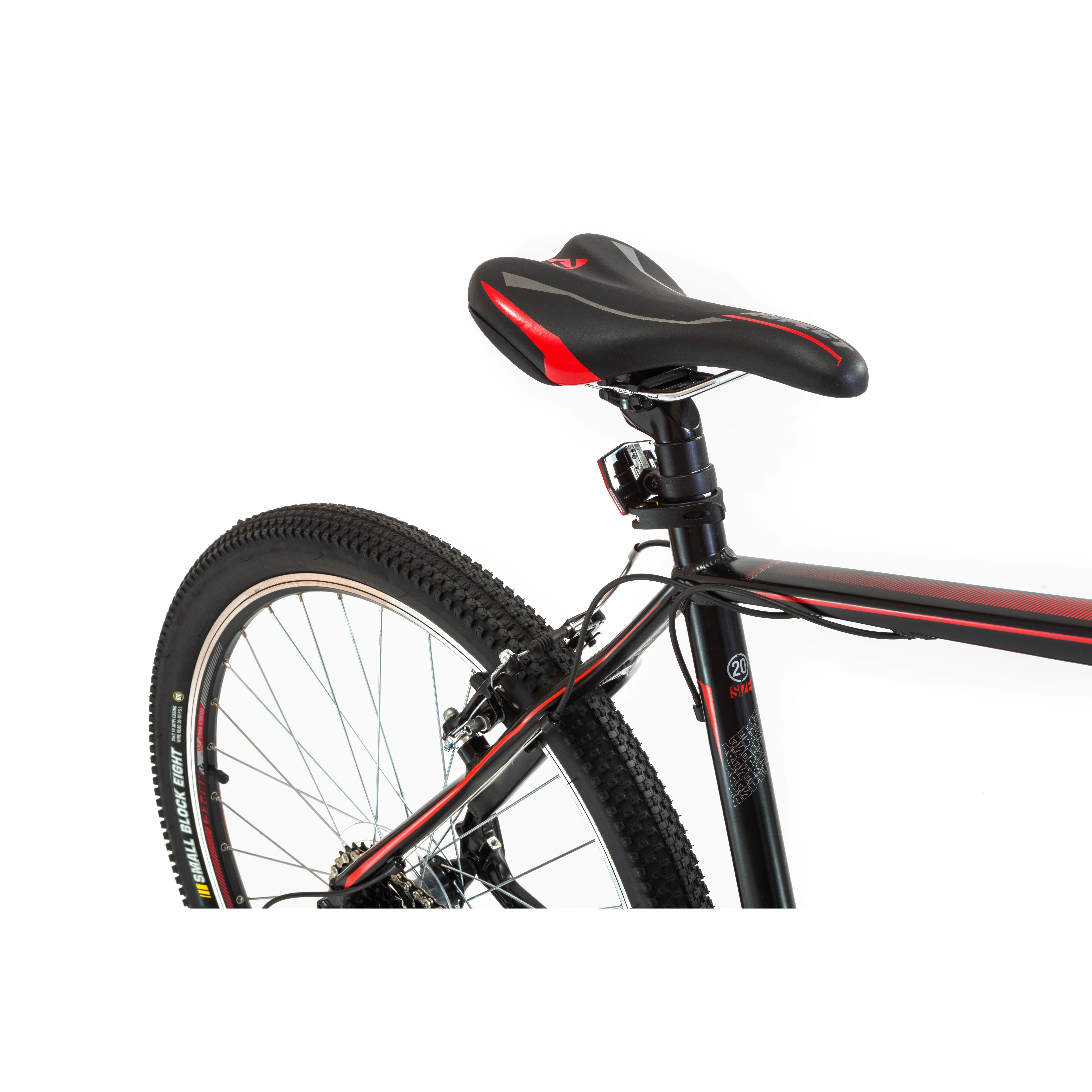 Велосипед Aspect Ideal 2016 Черно-Красн.
