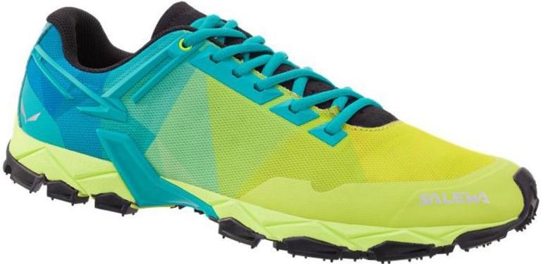 Купить Треккинговые кроссовки Salewa 2017 MS LITE TRAIN Sulphur/Viridian Green Треккинговая обувь 1325952