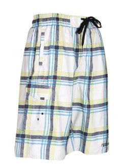 Купить Шорты для активного отдыха RIPZONE 2012 PLAID White Combo белый/принт, Одежда туристическая, 788061