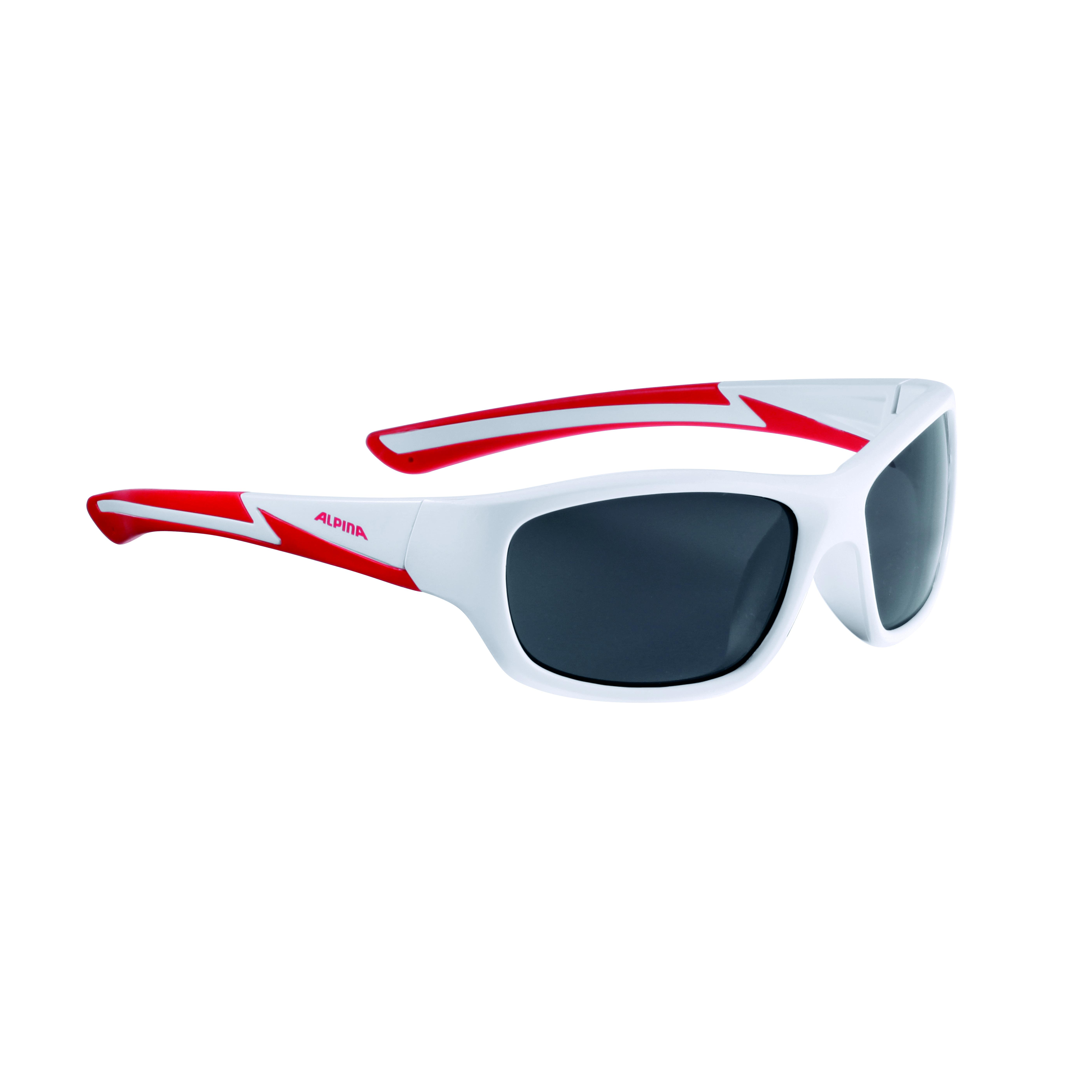 Купить Очки солнцезащитные Alpina 2018 FLEXXY YOUTH white matt-red, солнцезащитные, 1323702