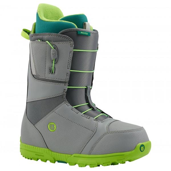 Купить Ботинки для сноуборда BURTON 2015-16 MOTO GRAY/GREEN, сноуборда, 1134554