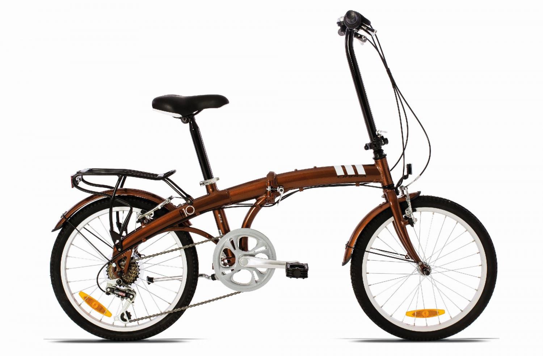 Купить Велосипед ORBEA FOLDING A10 2015 Коричневый / Коричневый, Складные велосипеды, 1253875