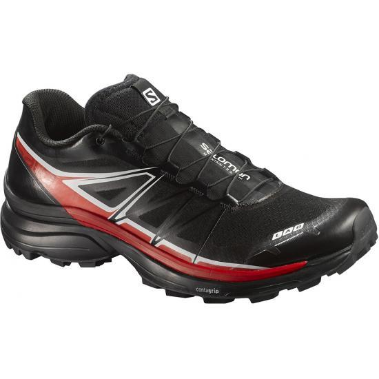 Купить Беговые кроссовки для XC SALOMON 2016 S-LAB WINGS SG BLACK/RD/WH Кроссовки бега 1247029
