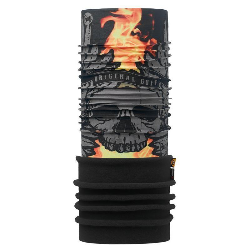 Купить Бандана BUFF POLAR SULFUR BLACK / BLACK-BLACK-Standard, Банданы и шарфы Buff ®, 1227913
