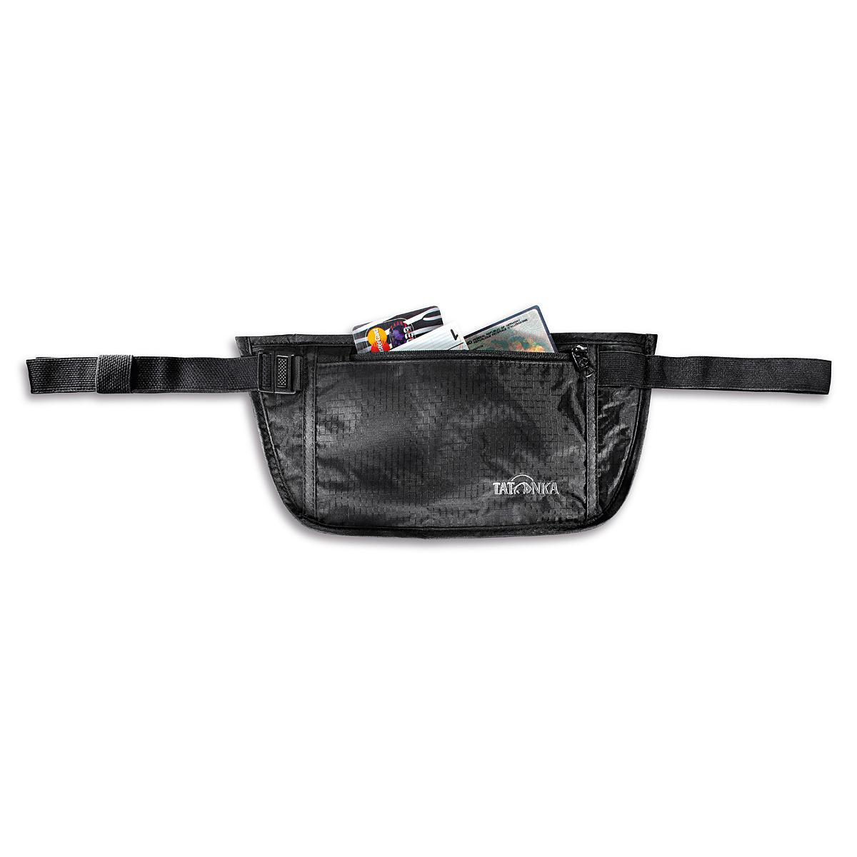 Кошелек Tatonka Skin Document Belt Black