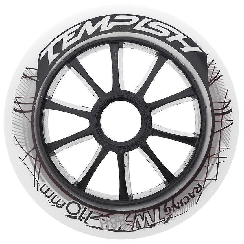 Купить Комплект колёс для роликов TEMPISH 2018 TW 100x24mm 85A white, Аксессуары роликов, 1409128