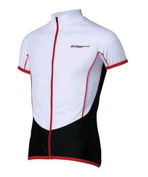 Футболка BBB RoadTech jersey s.s white red (BBW-109)