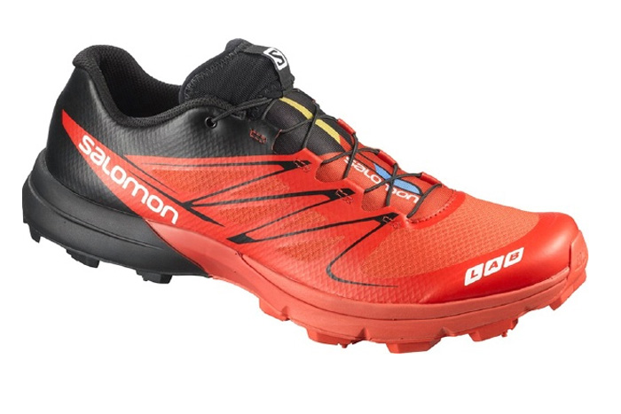 Беговые кроссовки для XC SALOMON S-LAB SENSE 3 ULTRA RD/BK/R Кроссовки бега 1245574  - купить со скидкой