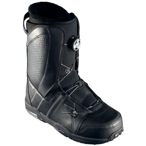 0f6d9a256e91 Ботинки для сноуборда NIDECKER 2009-10 Player BOA black gold ...