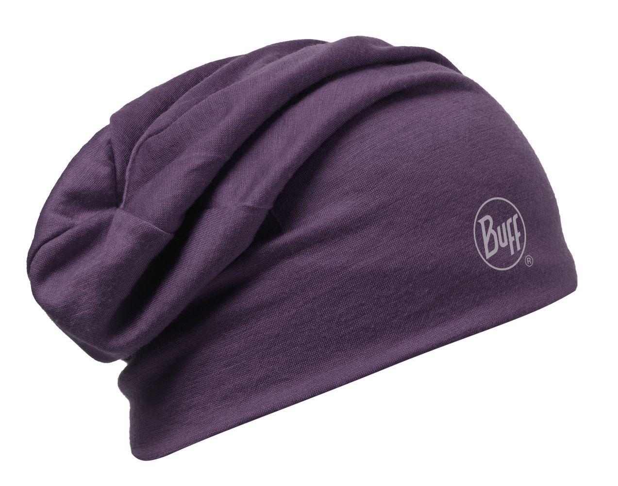 Шапка BUFF WOOL SOLID PLUM Банданы и шарфы Buff ® 1169259  - купить со скидкой