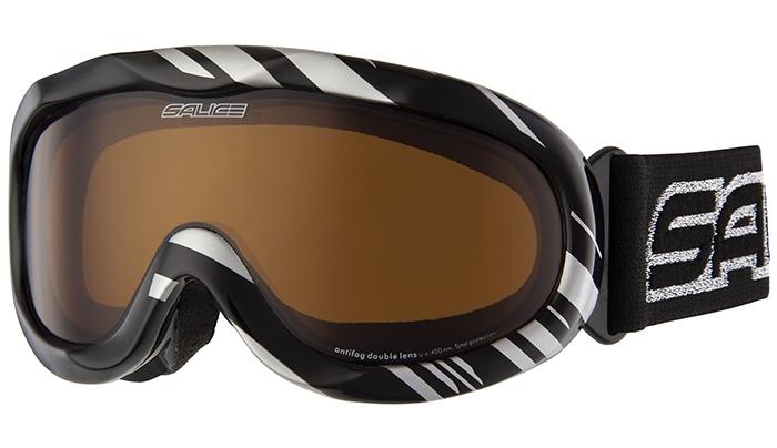 Очки Горнолыжные Salice 884Dafd Black/brown от КАНТ