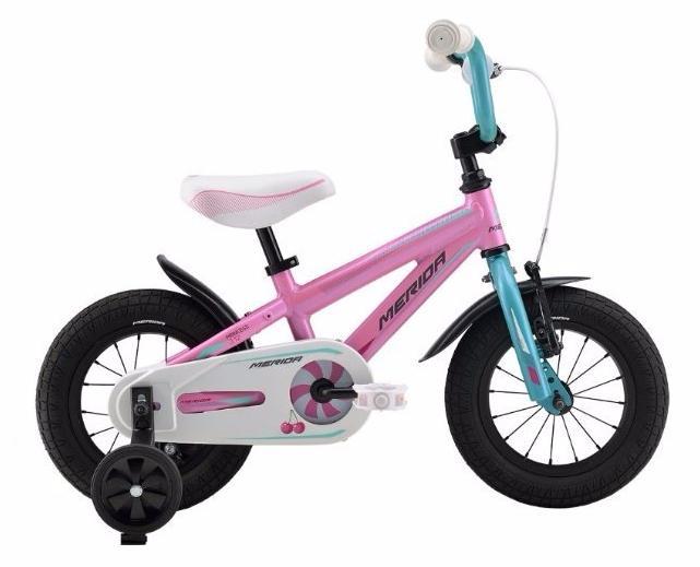 Велосипед Merida Princess J12 2016 Pink/blue