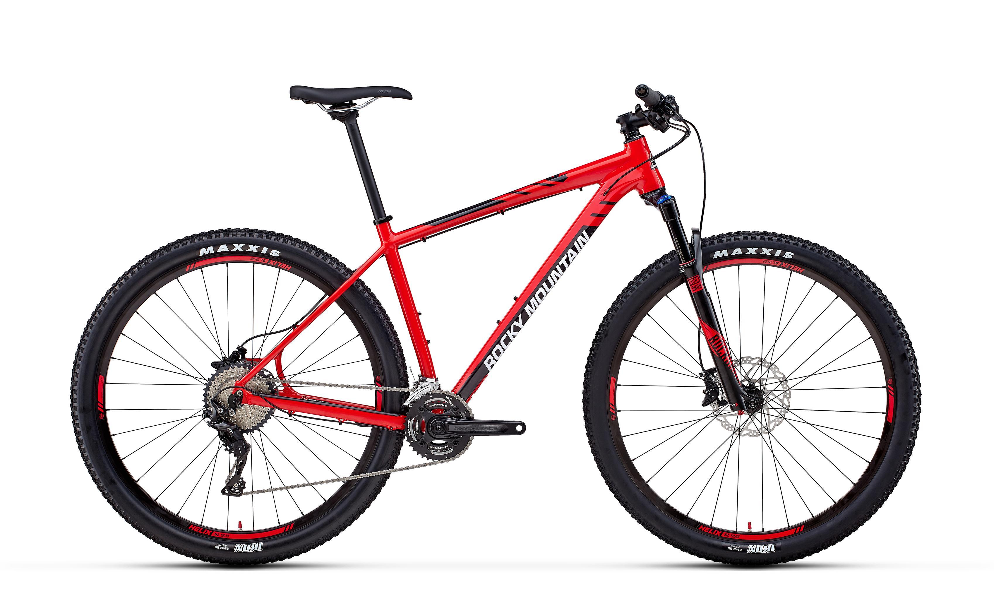 Велосипед Rocky Mountain Vertex Alloy 50 2018 Red/black