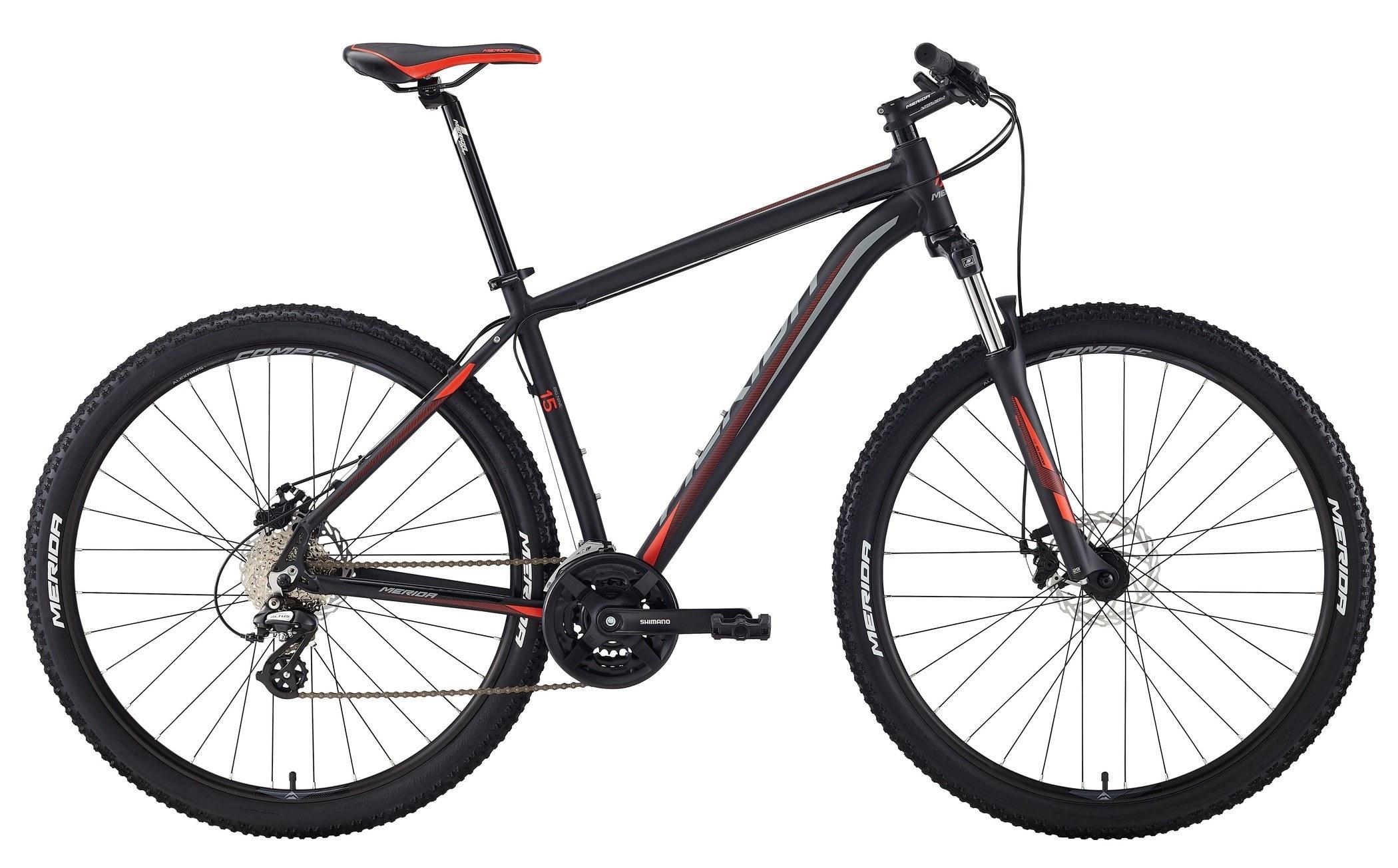 Велосипед Merida Big.nine 15-Md 2018 Matt Black