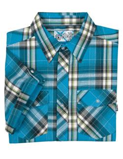 Купить Рубашка для активного отдыха RIPZONE 2012 LOCO Electric Blue/Lime синий/лайм/принт, Одежда туристическая, 787987