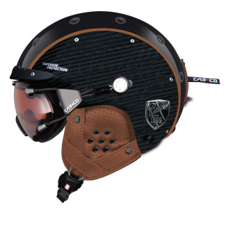 Зимний Шлем Casco SP-3 LIMITED PURE CARBON Black-Brown