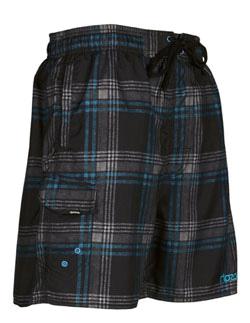 Купить Шорты для активного отдыха RIPZONE 2012 SHORTY Black Combo Plaid черный/принт, Одежда туристическая, 788262