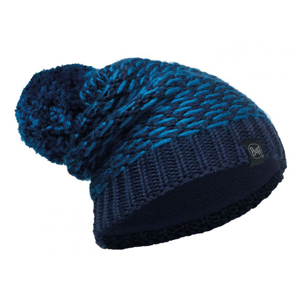 Купить Шапка BUFF KNITTED & POLAR HAT KIRVY DARK NAVY-DARK NAVY-Standard, Головные уборы, шарфы, 1227675