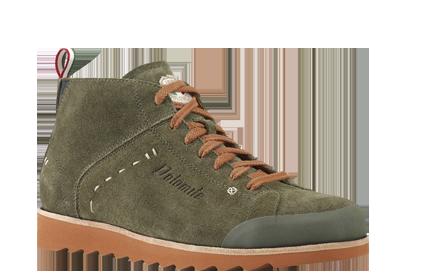 Купить Ботинки городские (высокие) Dolomite 2016 CINQUANTAQUATTRO TRAVEL MID OLIVE-BRICK Обувь для города 1199675
