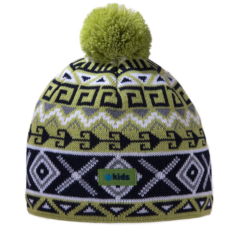 шапка kama для девочки, зеленая
