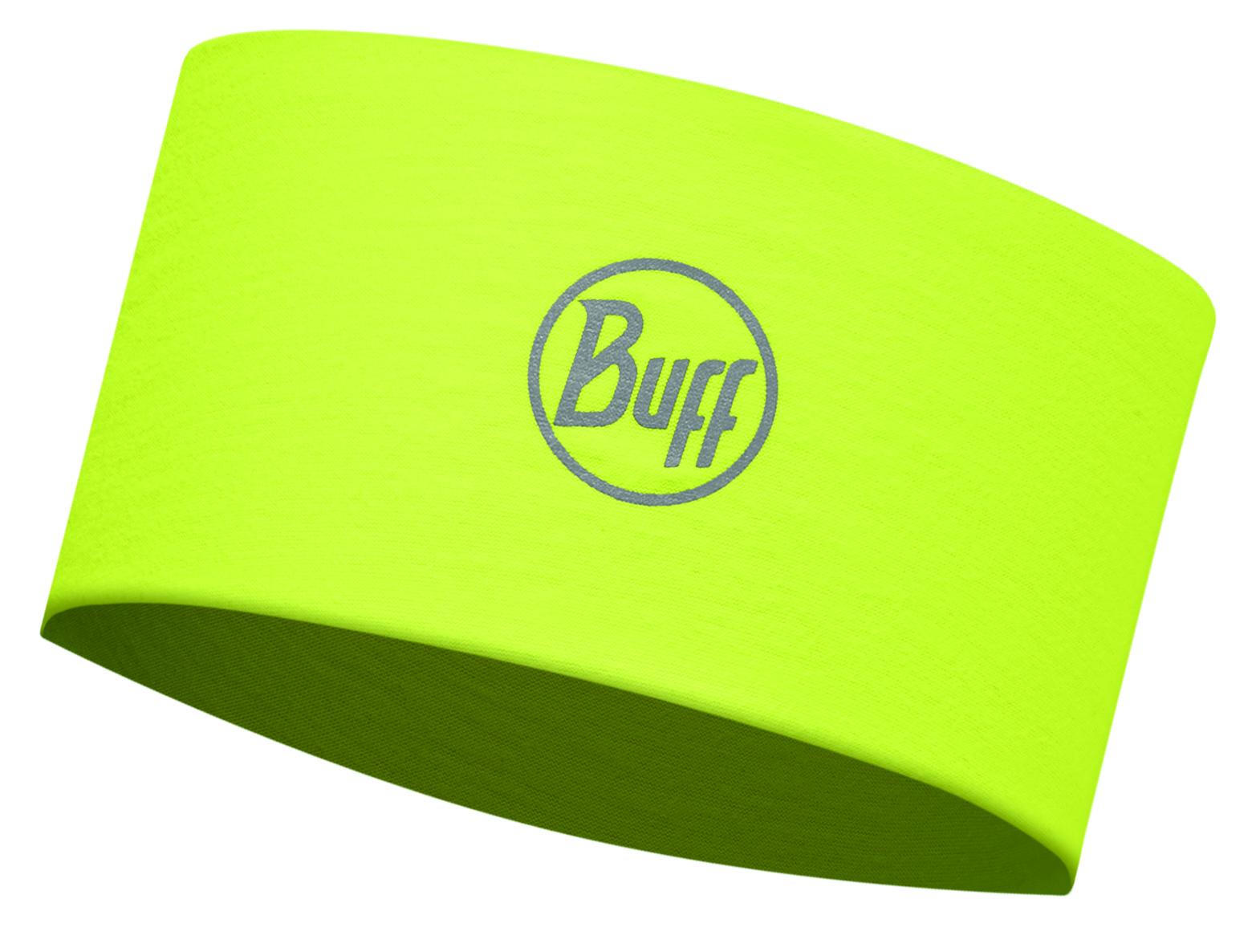 Повязка BUFF Headband R-SOLID YELLOW FLUOR Банданы и шарфы Buff ® 1312838  - купить со скидкой